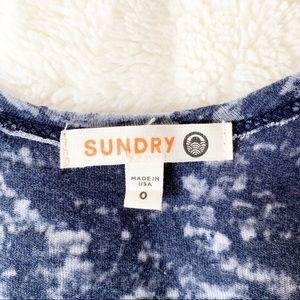 Sundry Tops - Sundry Burnout Racerback Tank NWOT